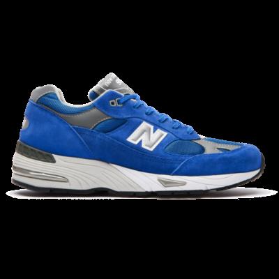 New Balance 991 Bright Blue/Grey/White M991BLE