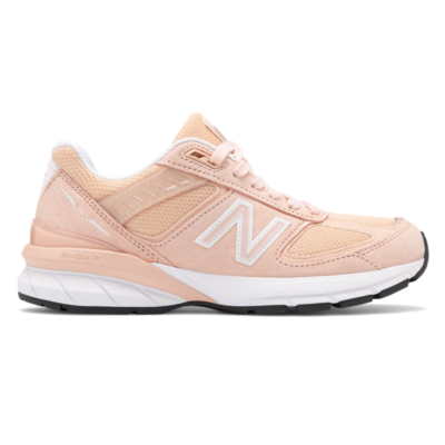 New Balance Made in US 990v5  Pink/White W990PK5