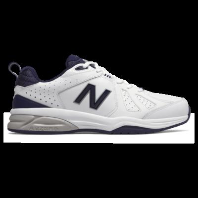 New Balance 624v5 Laufschuhe – White/Pigment (Grösse EU 45 XX-Wide) White/Pigment MX624WN5