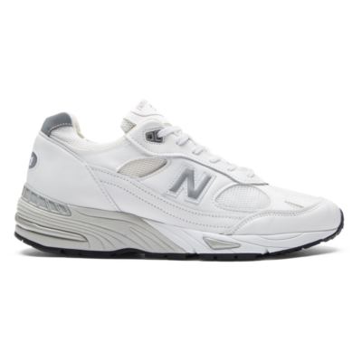 New Balance Made in UK 991  White/Silver M991WHI