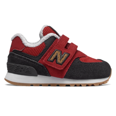 New Balance Hook and Loop 574  Red Jasper/Red/Phantom IV574KWS
