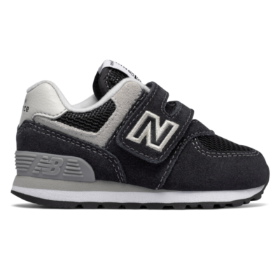 New Balance Hook and Loop 574 Core Black/Grey IV574GK