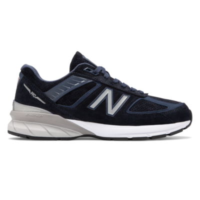 Herren New Balance  990v5 NB Navy/Silver/White M990SN5