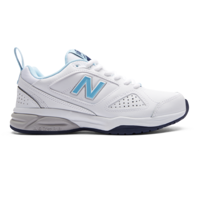 New Balance 624v4  White/Blue WX624WB4