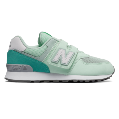 New Balance 574 Day and Night  Green/White YV574D5