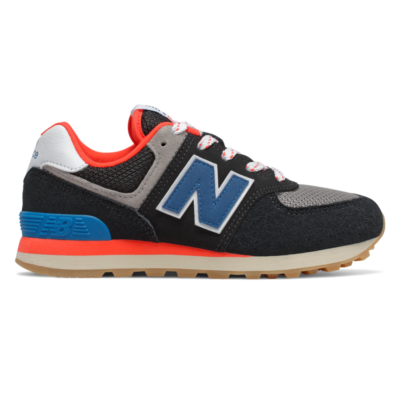 New Balance 574 Core Plus  Black/Neo Classic Blue PC574SOV
