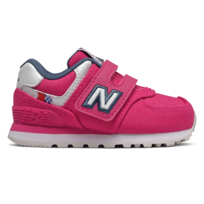 New Balance Hook and Loop 574 Coastal Pack  Exuberant Pink/Drizzle IV574SOE