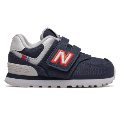 New Balance Hook and Loop 574 Coastal Pack  NB Navy/White IV574SOP