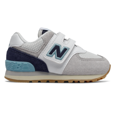New Balance Hook and Loop 574  White/Pigment IV574SOU
