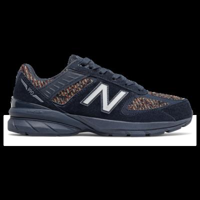 New Balance 990v5  Natural Indigo/Vision Blue GC990IB5