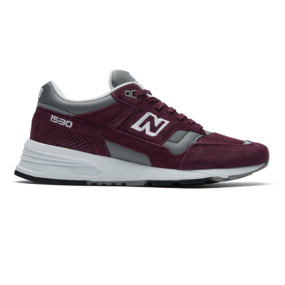 New Balance Made in UK 1530 – Burgundy/Grey/White (Grösse EU 43) Burgundy/Grey/White M1530BUR