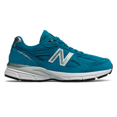 New Balance Made in US 990v4  Lake Blue/Silver W990LB4