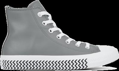 Converse Leather and Chevron Chuck 70 Black/ White 566130C