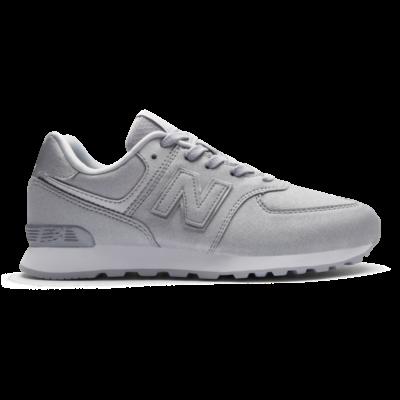 New Balance 574 – Silver (Grösse EU 38) Silver GC574KS