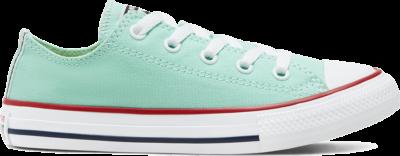 Converse Seasonal Color Chuck Taylor All Star Low Top voor kids Ocean Mint/Garnet/White 666821C