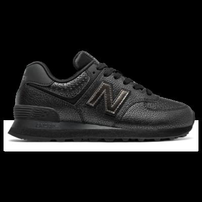 New Balance 574 Worn Metallic  Black/Black Metallic WL574SOH