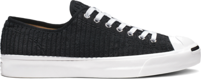 """Converse Jack Purcell OX Wide Wale Cord """"Black"""" 165139C"""