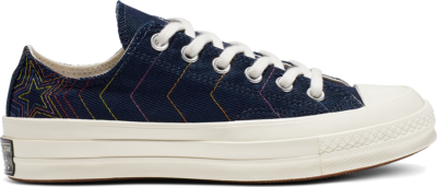 Converse Chuck 70 Exploding Star Low Top Blue 164967C