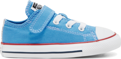 Converse Seasonal Color Easy-On Chuck Taylor All Star Low Top voor peuters Coast/Garnet/White 766823C