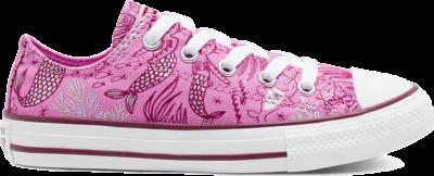 Converse CTAS OX PEONY PINK/ROSE MAROON/WIT Peony Pink/Rose Maroon/White 667204C