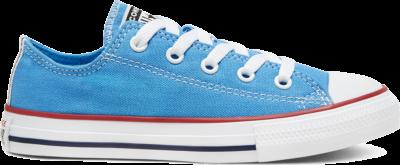 Converse Seasonal Color Chuck Taylor All Star Low Top voor kids Coast/Garnet/White 666819C