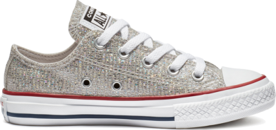 Converse Chuck Taylor All Star Sparkle Low Top Red 663627C