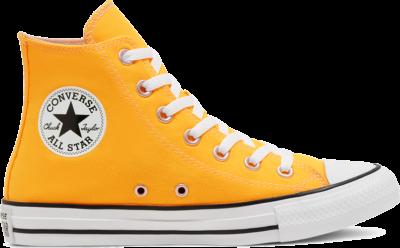 Converse Unisex Seasonal Color Chuck Taylor All Star High Top Laser Orange 167236C