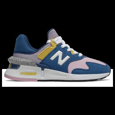 New Balance 997 Sport  Blue/Oxygen Pink WS997JCE