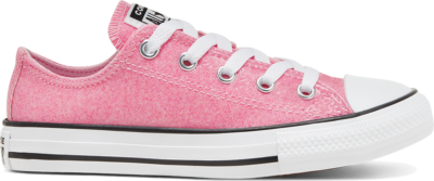 Converse Coated Glitter Chuck Taylor All Star Low Top voor kids Cherry Blossom/Black/White 666895C