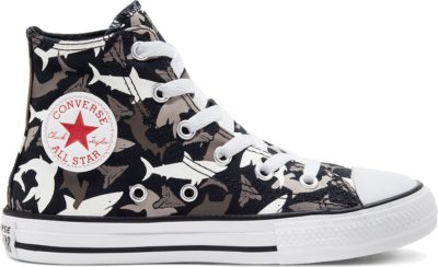 Converse Seasonal Color Dainty Chuck Taylor All Star High Top voor kids Black/University Red/White 666888C