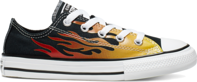 Converse CTAS OX ZWART/ENAMEL RED/FRESH YELLOW Black/Enamel Red/Fresh Yellow 366197C