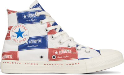 Converse Chuck Taylor All Star Bold Branding High Top Blue 166500C