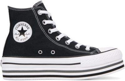 Converse Chuck Taylor All Star Platform High Top Black/ White 564486C