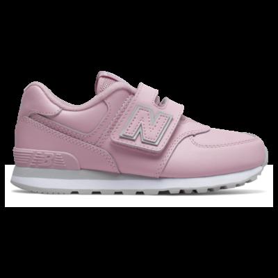 New Balance 574  Oxygen Pink/Light Aluminum YV574ERP