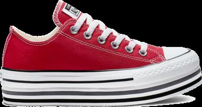 Converse Chuck Taylor All Star Platform Layer Red 563972C