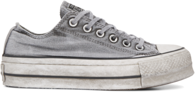 Converse Chuck Taylor All Star Lift Smoked Canvas Low Top Grey 563112C