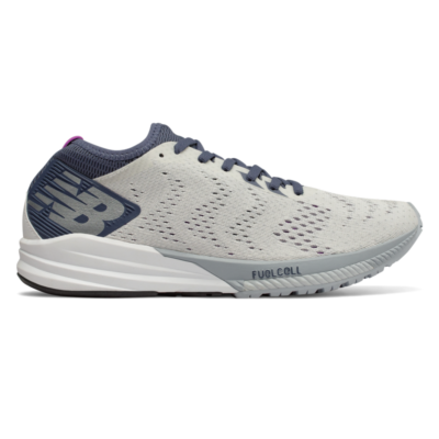 New Balance FuelCell Impulse  White/Voltage Violet & Light Cyclone WFCIMWP