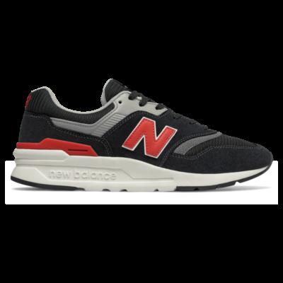 New Balance 997H  Black/Velocity Red CM997HDK