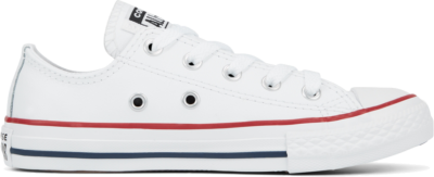 Converse Leather Chuck Taylor All Star Low Top voor kleuters White 335892C
