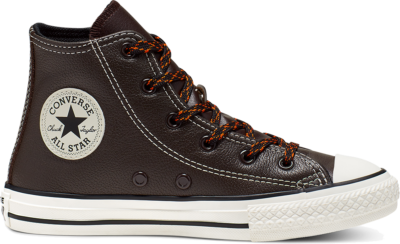 Converse Tumbled Leather Chuck Taylor All Star High Top voor kleuters Brown 365973C