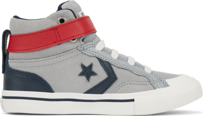 Converse Two-Tone Leather Pro Blaze Strap High Top voor kinderen Blue 665838C