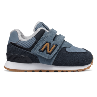 New Balance Hook and Loop 574  Chambray/Eclipse IV574KWA