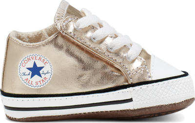 Converse Pearlized Party Chuck Taylor All Star Cribster Gold 866037C