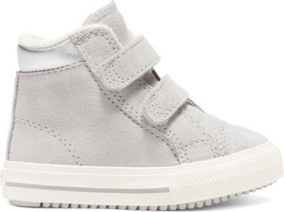 Converse Hook and Loop Chuck Taylor All Star PC Boot High Top voor baby's Grey 766577C