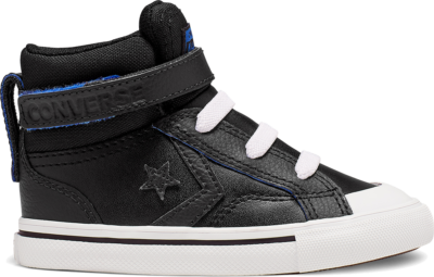 Converse Two-Tone Leather Pro Blaze Strap High Top voor peuters Black 766051C