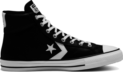 Converse Unisex Leather Star Player High Top Black 166226C