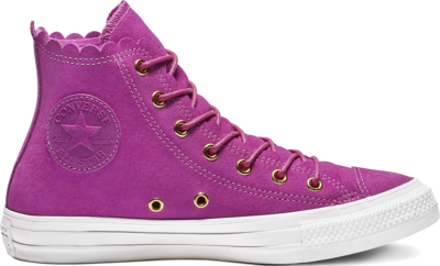 Converse Chuck Taylor All Star Frilly Thrills High Top Pink 563424C