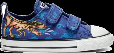 Converse Chuck Taylor All Star Dinoverse Velcro Blue 764248C