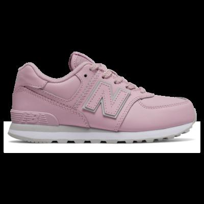 New Balance 574  Oxygen Pink/Light Aluminum GC574ERP