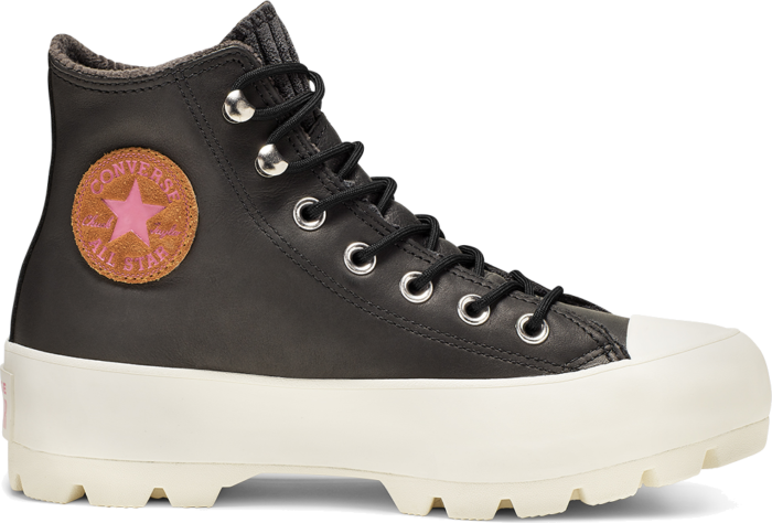 Converse Chuck Taylor All Star Gore-tex Lugged Waterproof Leather Hi Black 565006C